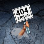 Prevent The 404 Errors For Page Not Found With 3 Tips