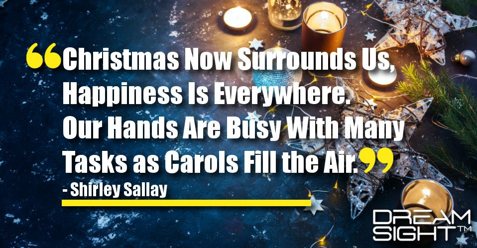 Christmas Now Surrounds Us, Happiness Is Everywhere. Our ...