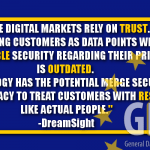 The Digital Markets Rely On Trust