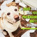 If Dogs Don't Like Your Dog Food, The Packaging Doesn't Matter