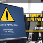 In Advertising, Not To Be Different Is Virtually Suicidal