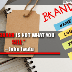 Your brand is not what you sell