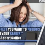 Decide The Effect You Want To Produce In Your Reader