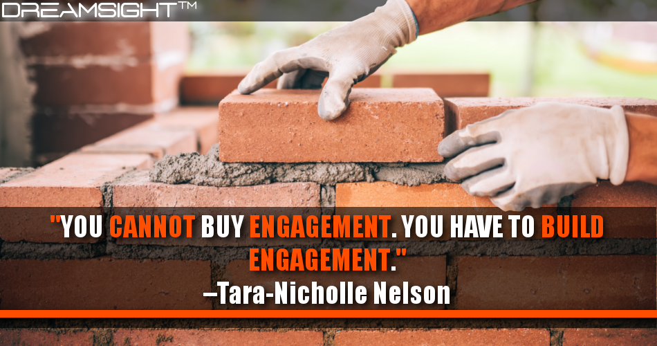 You Cannot Buy Engagement. You Have To Build Engagement