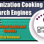 Optimization Cooking With Search Engines Graphic Series: Part 1