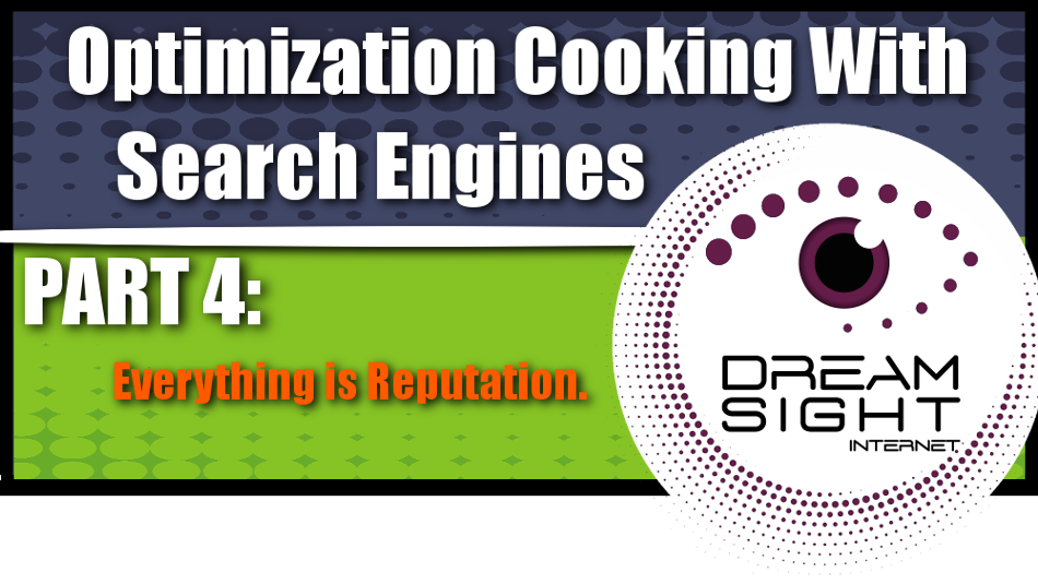 Optimization Cooking With Search Engines Graphic Series: Part 4