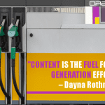 Content Is The Fuel For Your Lead Generation Efforts