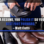 SEO Is Like A Resume, You Polish It So You Have Your Best Foot Forward