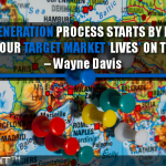 The Lead Generation Process Starts By Finding Out Where Your Target Market 'Lives' On The Web