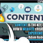 Content Is The Key, Because It's How A Website Creates An Online Experience
