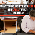 No Matter What You Do, Don't Pass Leads Directly To The Sales Team.