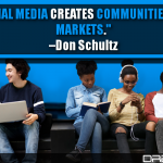 Social Media Creates Communities, Not Markets