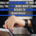 The First Rule Of Social Media Is That Everything Changes All The Time. What Won't Change Is The Community's Desire To Network
