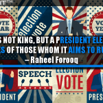 Content Is Not King, But A President Elected By The Votes Of Those Whom It Aims To Rule
