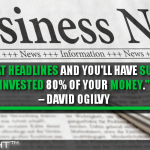 Write Great Headlines And You'll Have Successfully Invested 80% Of Your Money