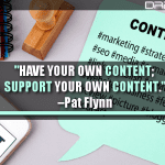 Have Your Own Content; Support Your Own Content