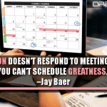 Inspiration Doesn't Respond To Meeting Requests. You Can't Schedule Greatness